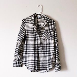MERONA black & white plaid shirt